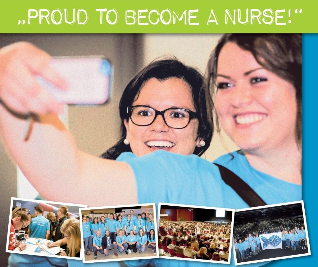 Junge Pflege Kongress 2018 - JPK _ Proud to become a nurse _ Bochum _ DBfK Nordwest _ Banner